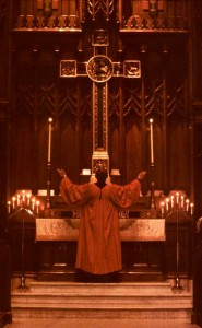 The altar of Salem UCC
